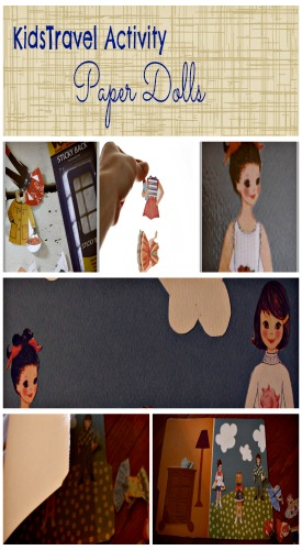 Kids Travel Activity-Paper Dolls-Our Sweet Somewhere Blog