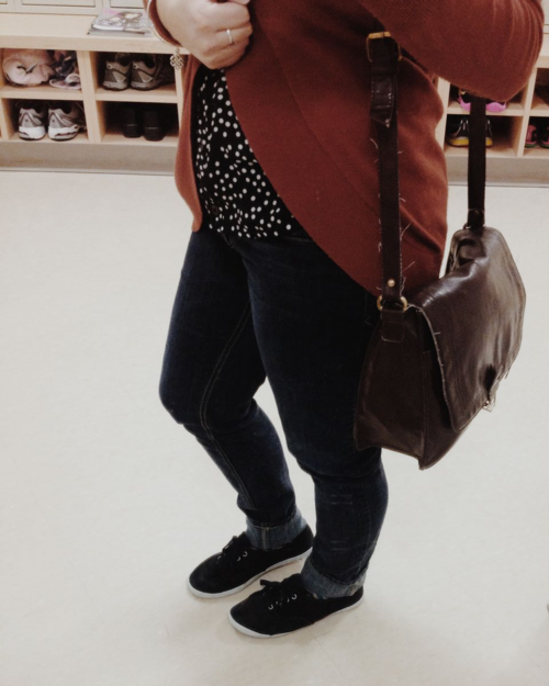 WSW: Jeans + Knock Off Keds