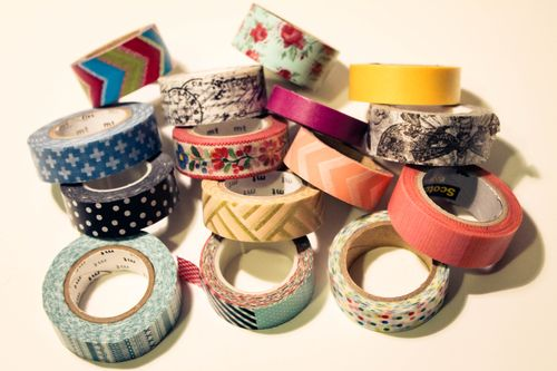How to make washi tape wine charms by Our Sweet Somewhere