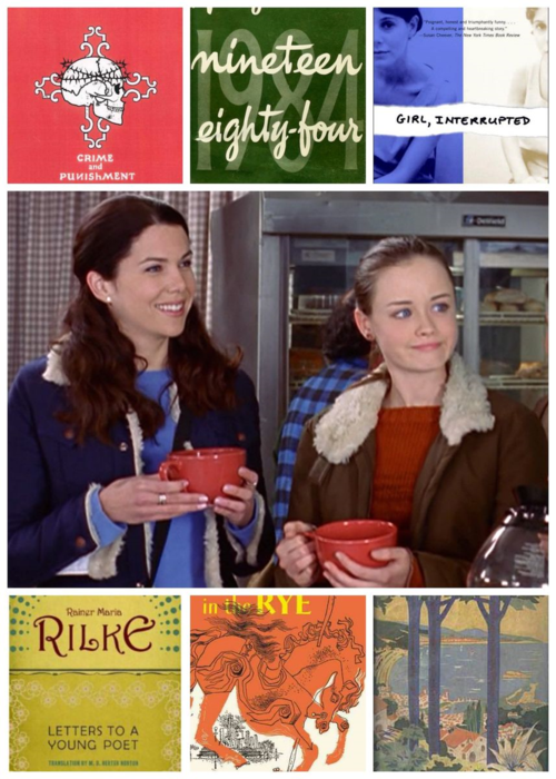 Rory Gilmore summer book list inspiration l Our Sweet Somewhere.jpg
